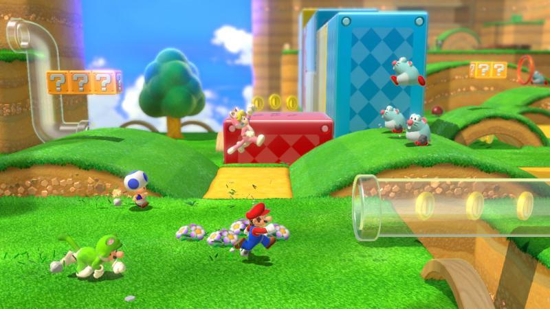 Super Mario 3D World & Bowser's Fury - 3D World Level (Foto: Nintendo)