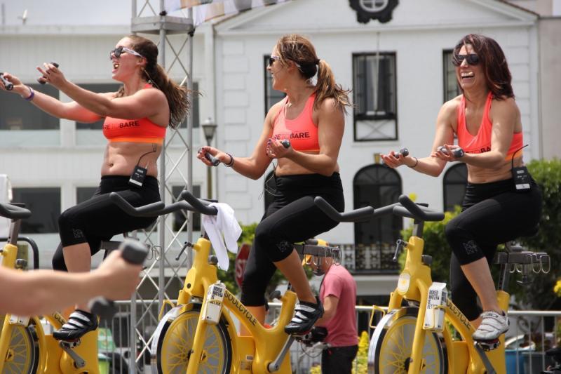 Het is een zegen! Van het weekend er op uit met de fiets.