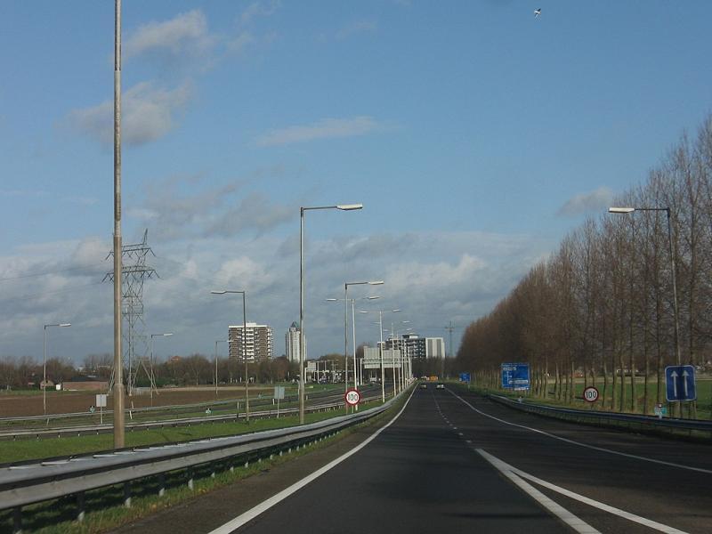 Het nutteloze feitje van de dag: een klein snelwegje (WikiCommons/Michiel1972)