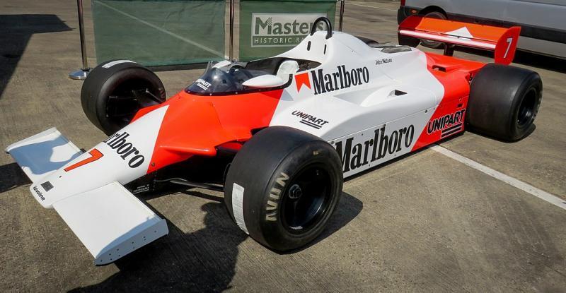 Het nutteloze feitje van de dag: aardappel McLaren in F1 (WikiCommons/Jen_ross83)