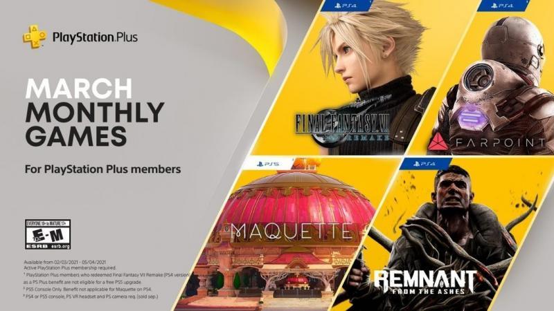 PlayStation Plus Maart 2021