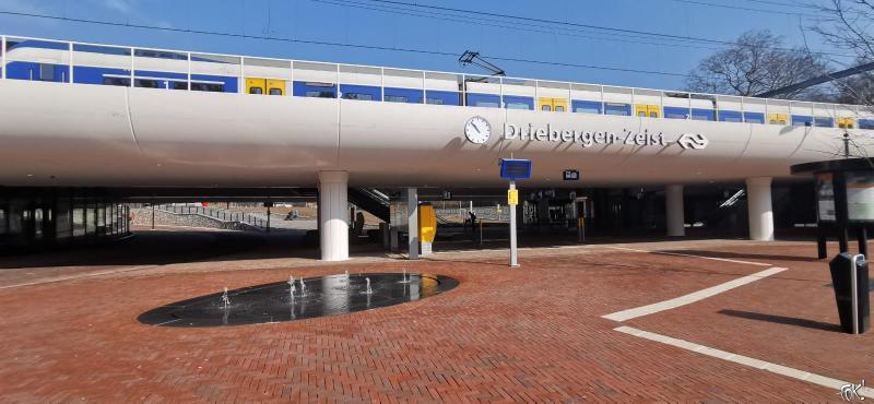 Het vernieuwde Station Driebergen Zeist