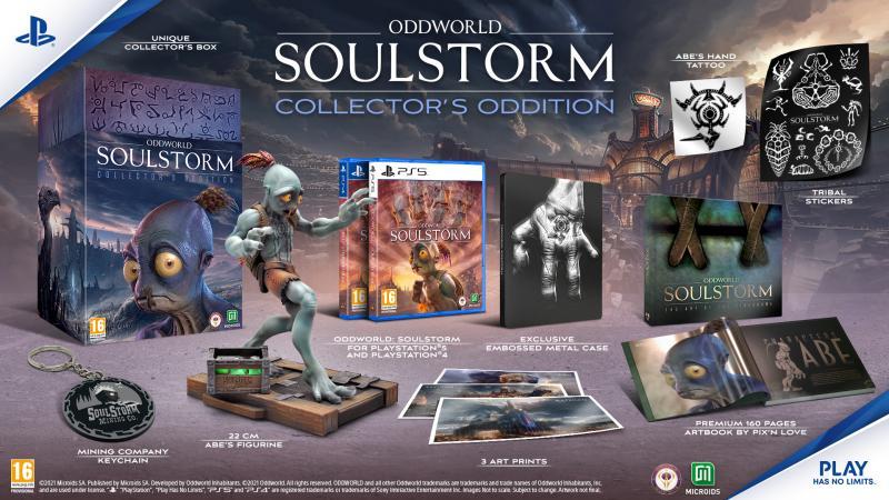 Oddworld Soulstorm - Collectors Oddition