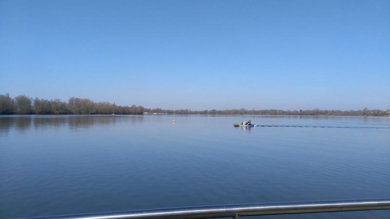 Hoe sterk is de eenzame waterfietser (Foto: qltel)