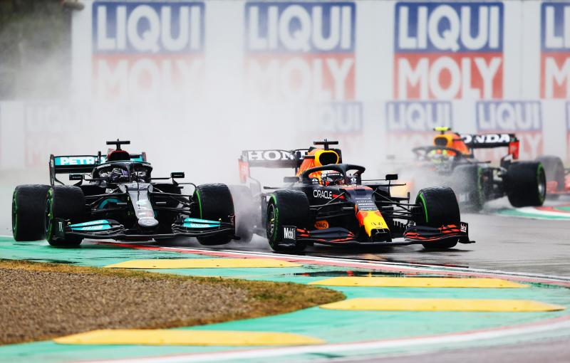 "Verstappen: ""De sleutel was de goede start"" (Getty Images / Red Bull Content Pool)"