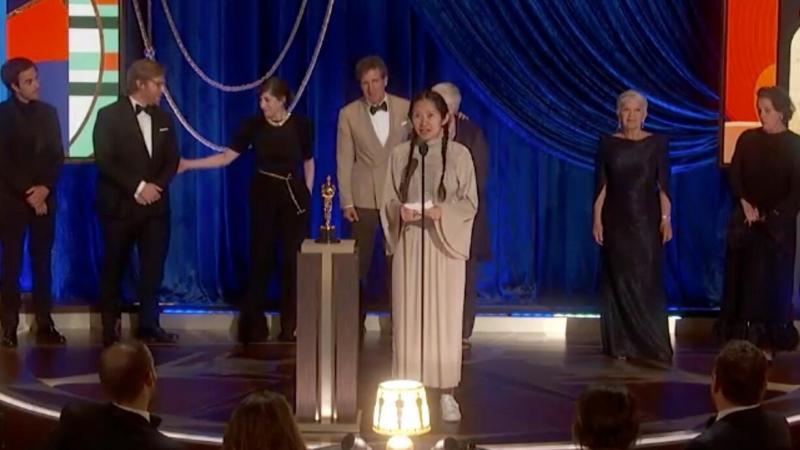 Nomandland wint beste film