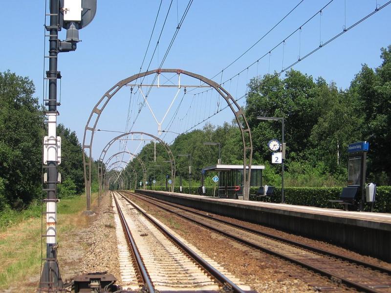 De Utrechtse kant van station Hollandse Rading (WikiCommons/M.Minderhoud)