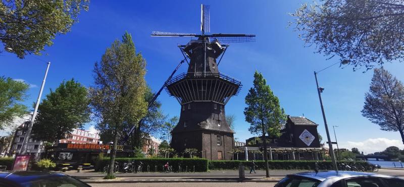 Ook in Amsterdam was het prachtweer (Foto: DJMO)