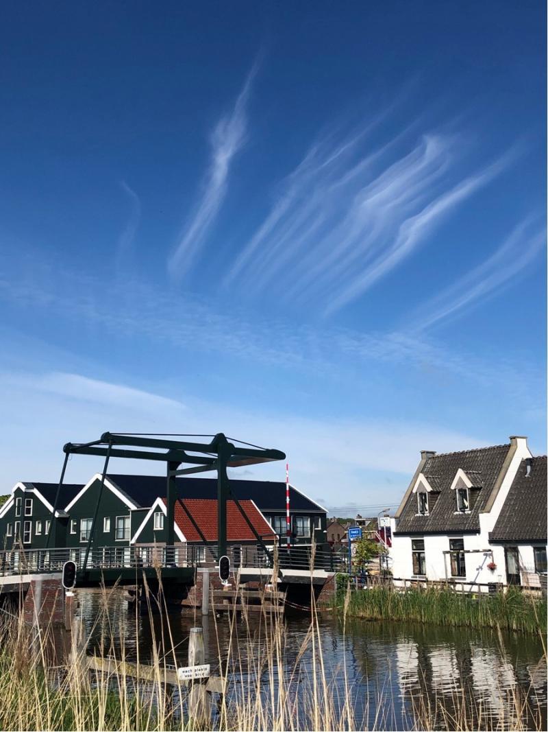 Ook in Kwadijk was het prachtig weer (Foto: Charged)