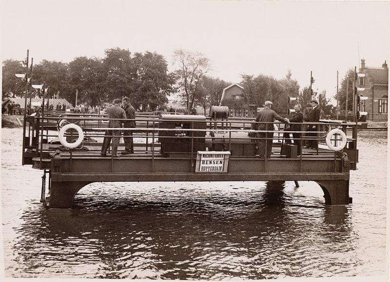 De veerwagen van Zeeburg (WikiCommons/Beeldbank Amsterdam)