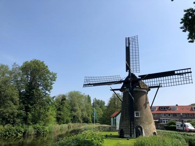 Een molen te Alkmaar (Foto: Charged)