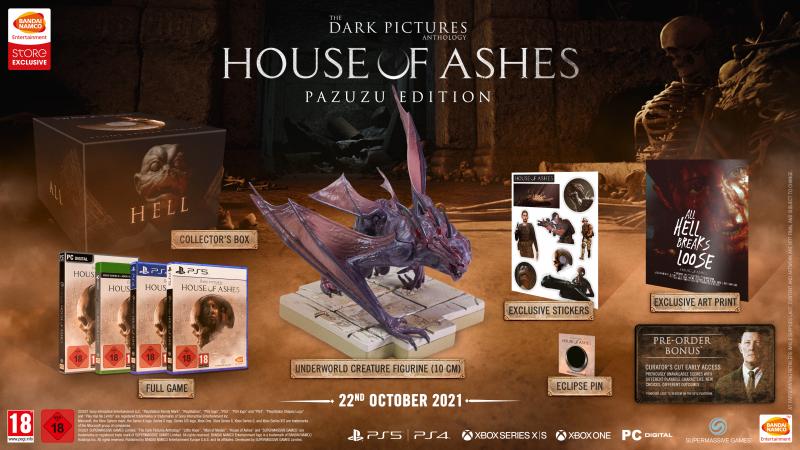 The Dark Pictures Anthology: House of Ashes - Pazuzu Edition (Foto: Bandai Namco)