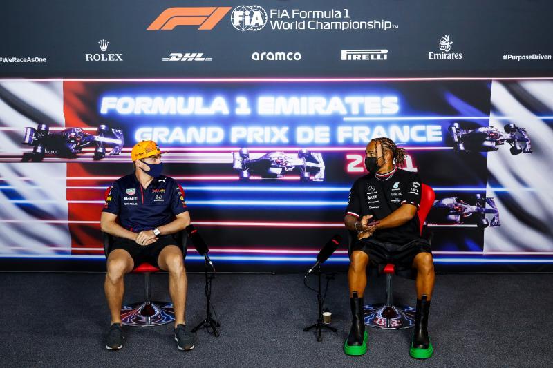 """Hamilton: """"Had aan het einde echt geen banden meer over"""" (Getty Images / Red Bull Content Pool)"""