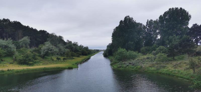Bewolking aan de Amsterdamse Waterleidingduinen (Foto: DJMO)