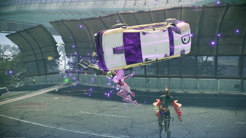 Scarlet Nexus - Combat (Foto: Bandai Namco)