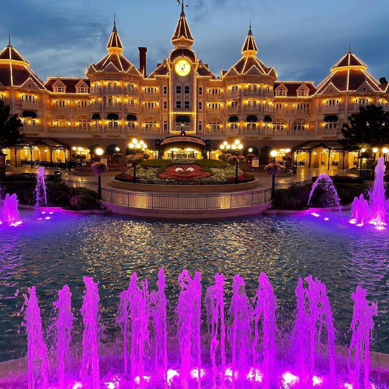 Disneyland entree (Foto: Robbert Willegers)