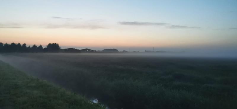 Op een vroege ochtend.. (Foto: DJMO)