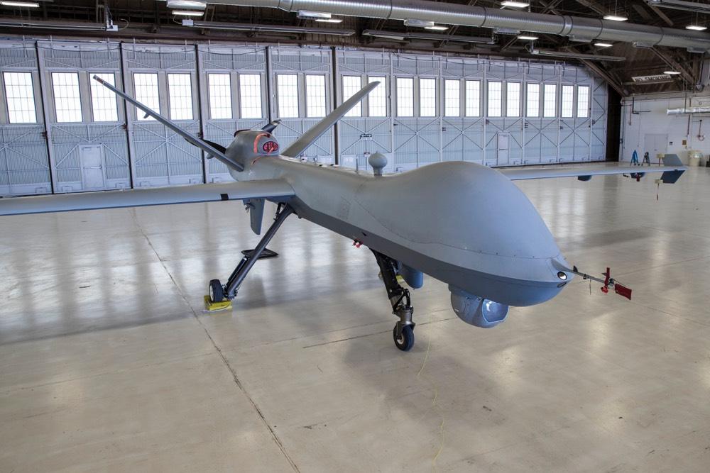 Een MQ-9 Reaper (Foto: Ministerie van Defensie)