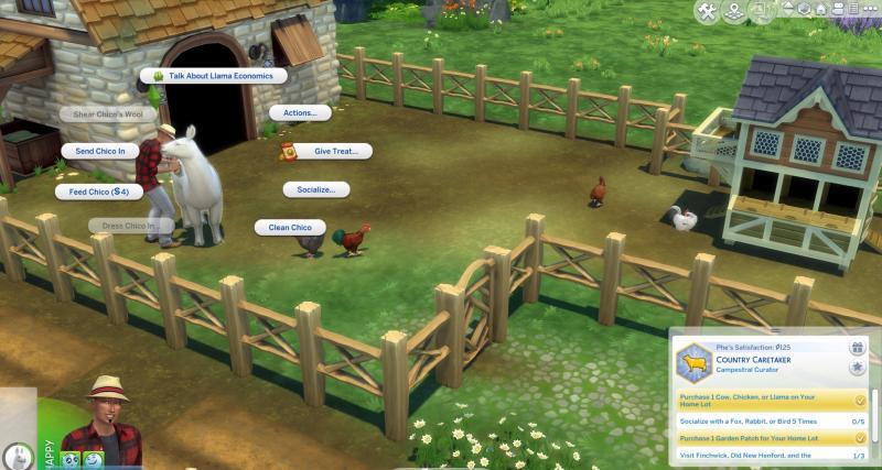 De Sims 4 Landelijk Leven - Lama (Foto: Electronic Arts)