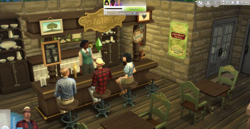 De Sims 4 Landelijk Leven - Bar (Foto: Electronic Arts)