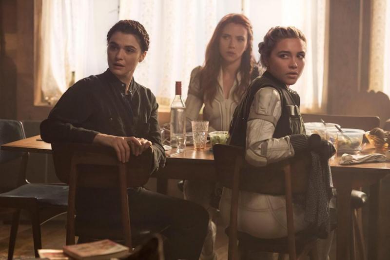 Black Widow: Rachel Weisz, Scarlett Johannson en Florence Pugh
