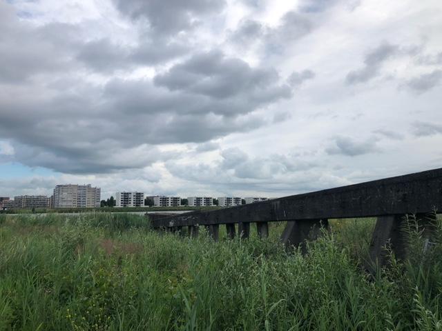 Het was en is bewolkt, nu zelfs met regen! (Foto: Charged)
