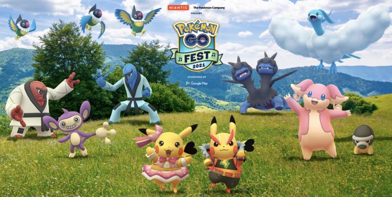 Pokémon Go Summerfest 2021 (Foto: The Pokemon Company International)