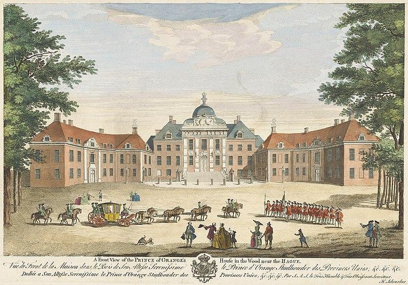 Paleis Huis ten Bosch (WikiCommons/Rijksmuseum)