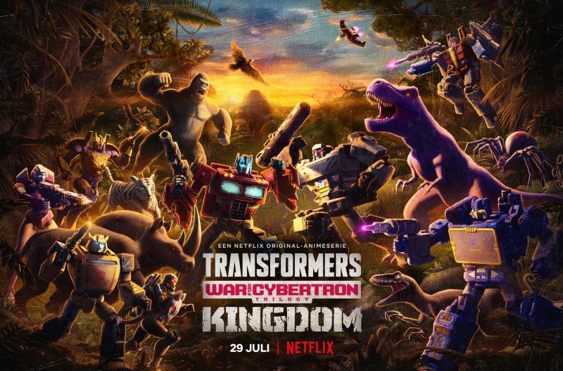 Transformers: War for Cybertron - Kingdom (Foto: Netflix)