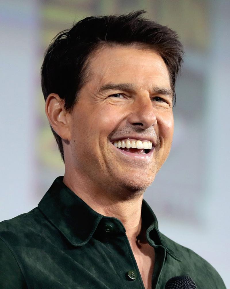 Het nutteloze feitje van de dag: Tom Cruise wil ze steeds iets jonger (WikiCommons/Gage Skidmore)