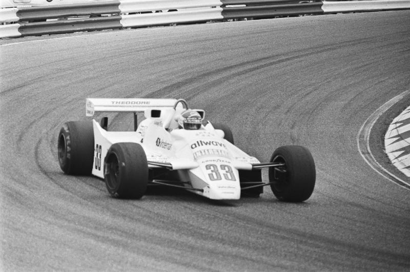 Jan Lammers tijdens de Granx Prix van Nederland in 1982 (WikiCommons/Dijk, Hans van/Anefo)