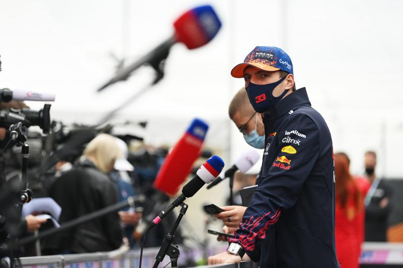"""Verstappen: """"Hopelijk kunnen we veel plezier hebben dit weekend"""" (Getty Images / Red Bull Content Pool)"""