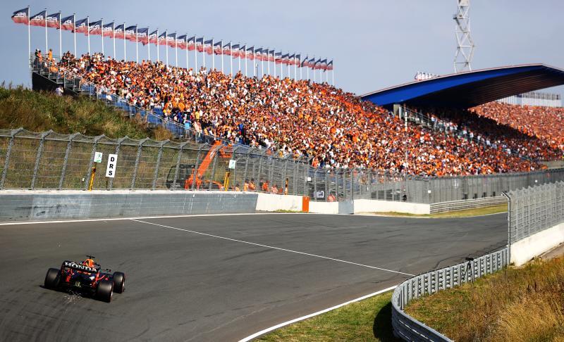 Ferrari's het snelst op Zandvoort, Verstappen vijfde (Getty Images / Red Bull Content Pool)