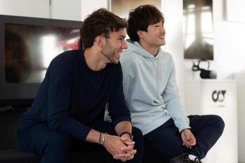 Gasly en Tsunoda ook volgend jaar bij AlphaTauri (Aron Suveg / Red Bull Content Pool)