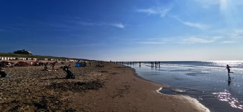 Ook aan het strand was het heerlijk vertoeven (Foto: DJMO)