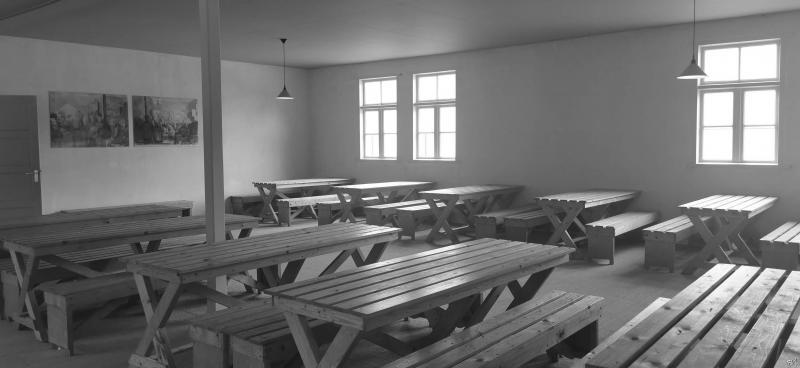 Kamp Vught (Reconstructie eetzaal)  (Foto: FOK!/DJMO)