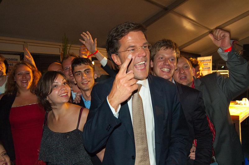 Nutteloze feitje van de dag: Rutte demissionair recordhouder (WikiCommons/Maarten from Netherlands)