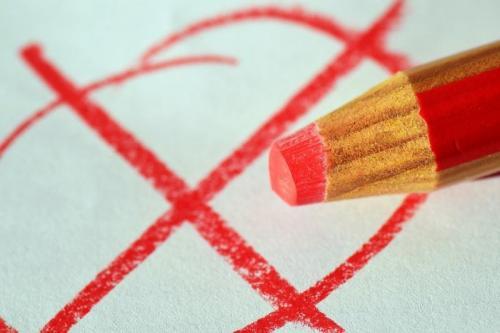 Rood stem potlood (Foto- Pixabay)