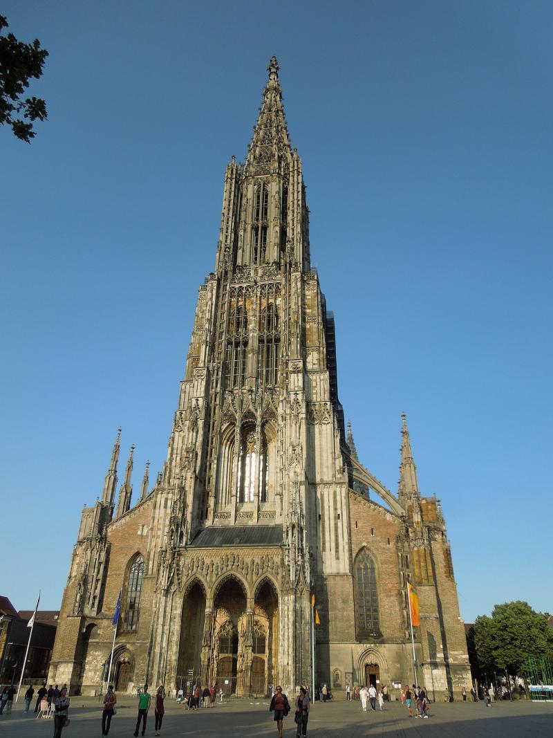 De toren van de Munster van Ulm (WikiCommons/Rburg87)