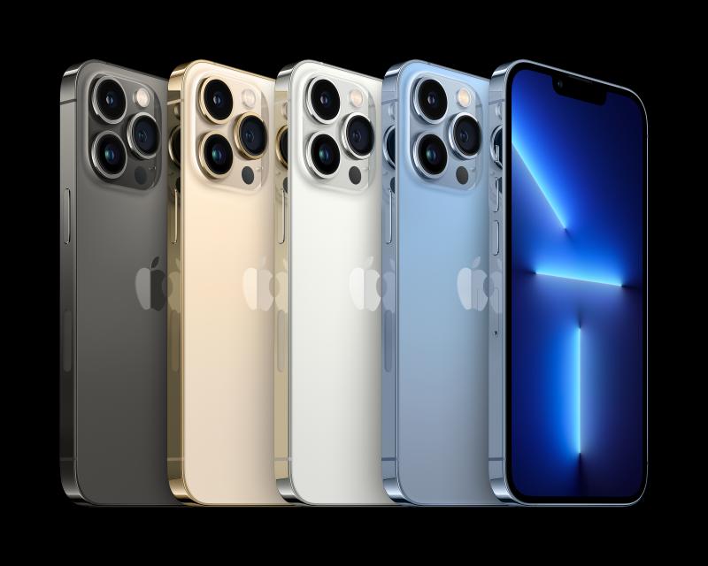 iPhone 13 Pro Max - Colours (Foto: Apple)