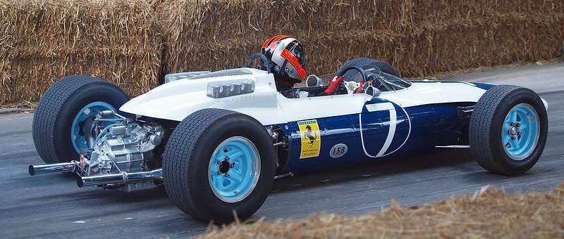 Ferrari 158 tijdens het Goodwood Festival of Speed 2014 (Flickr/Andy)