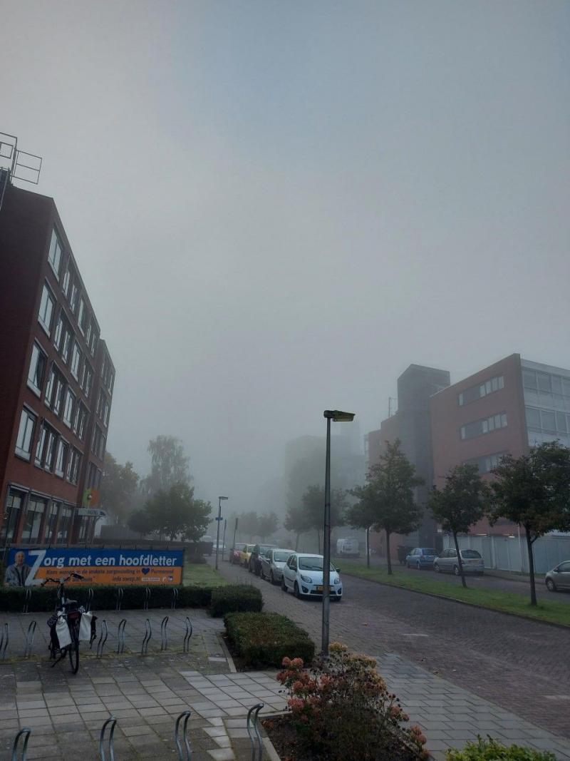 Mist vorige week (Foto: Pukeko)
