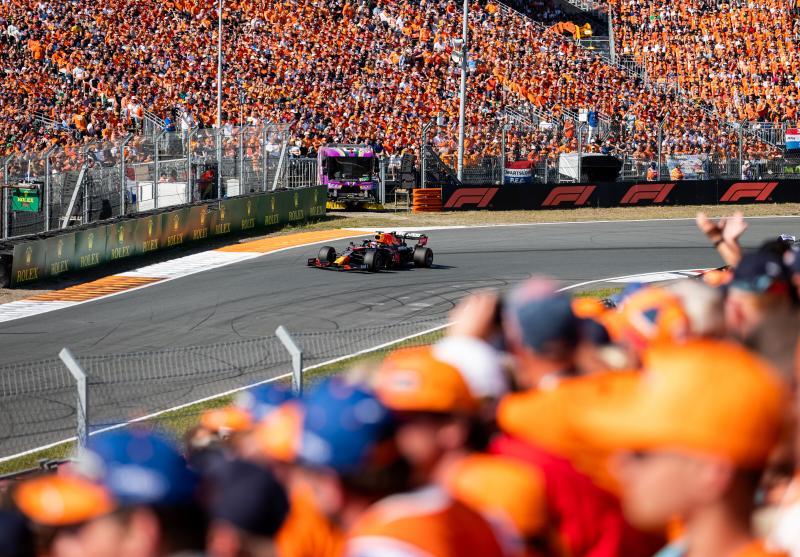 Het nutteloze feitje van de dag: Verstappen vaak aan kop (Getty Images / Red Bull Content Pool)
